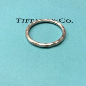 Tiffany&Co. Hammered ring size 7.5